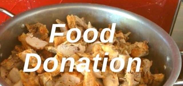 Doação de Alimentos 18 Julho 2016